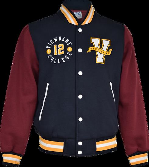 Varsity College Jacket Front View