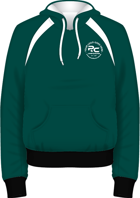 School Winter Fleece Hoodie Pullover Jumper Front View