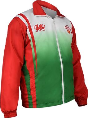 Sublimated Track Jacket front view