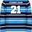 Old School Leavers Rugby Jersey Knit Jumper Back View