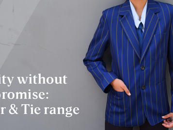 Quality without compromise: these blazers and ties are a cut above the rest.