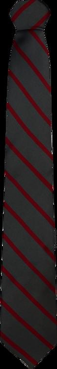 School Boys grey Tie red stripe