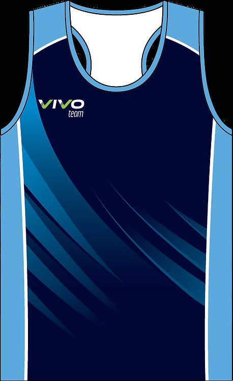 Sublimated Teamwear Triathlon Singlet Front View