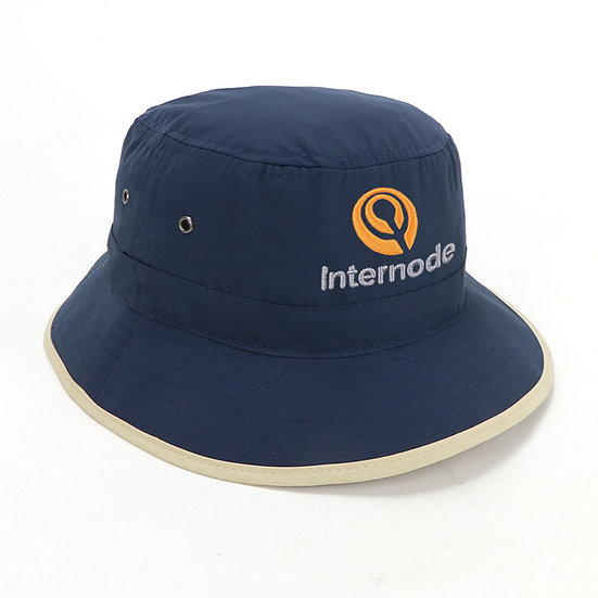School Bucket Hat Navy