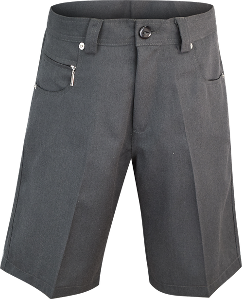 Jean Style School Shorts Front View