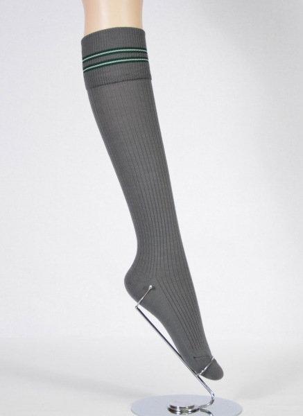 side view school sock long