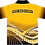 Sublimated Sports House Polo Back View Yellow