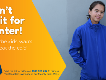 Last chance to order your Winter uniforms before it's too late.