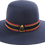 High Crown Formal School Hat front view