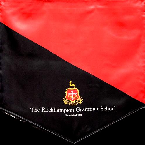 School Sublimated Music Banner Design without fringe