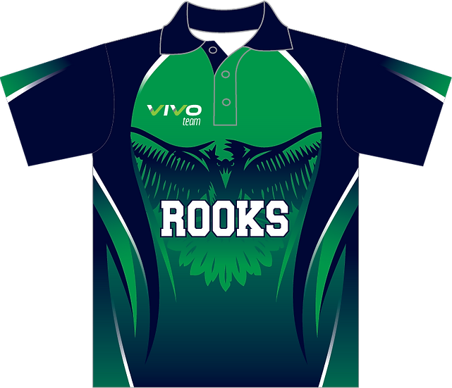 Sublimated Teamwear Sport Polo Front View