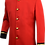 Tunic School Band Jacket Front View