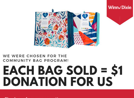 CAA Selected For Winn Dixie Community Bag Program