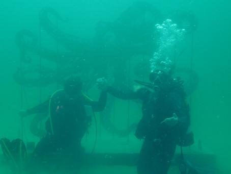 The Underwater Museum Of Art Is Open!