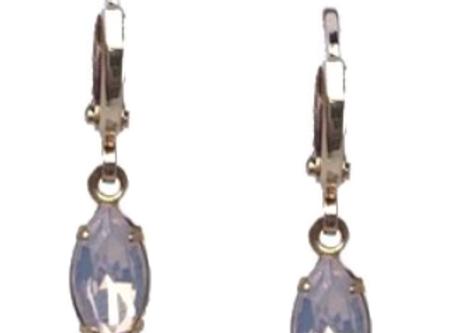 Huggie Opal Gem Earrings