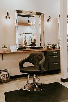 The Beauty Lounge Styling Station