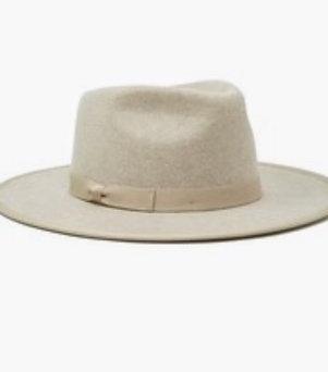 Oatmeal Fedora Hat