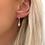 Thumbnail: Huggie Opal Gem Earrings