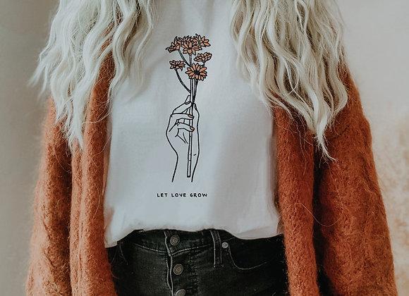 Let Love Grow Tee