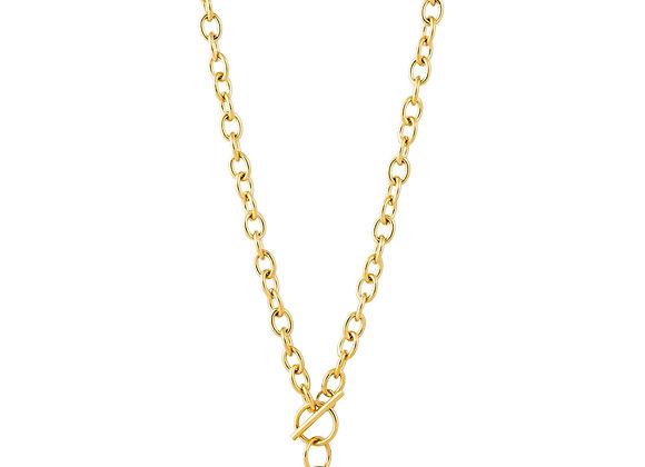 Stasi Toggle Lock Necklace