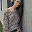 Thumbnail: Multi Rose Off the Shoulder Sweater
