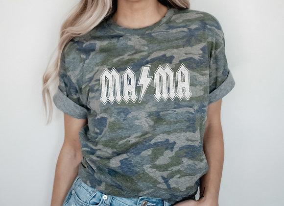 Vintage Camo Mama Tee