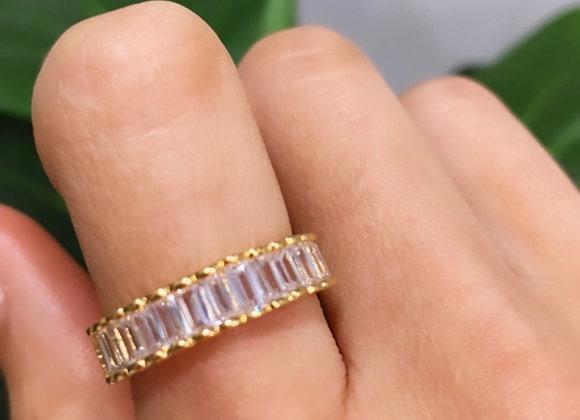 Baguette Queen Ring