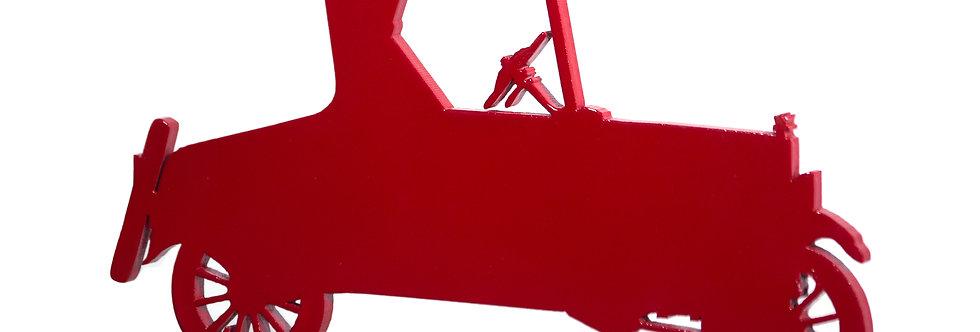 Aplique de Parede Carro Ford - G - 24x43cm