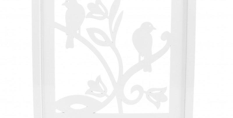 Quadro Passarinho - 34x34cm
