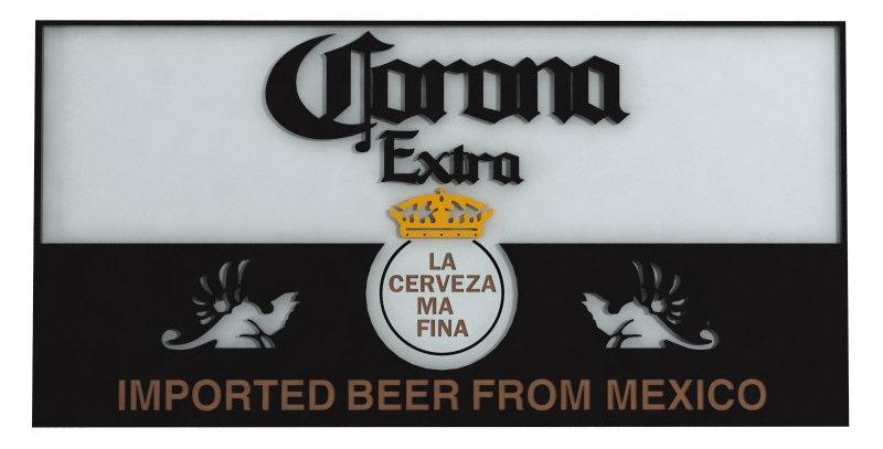 Quadro Corona - 40x20cm