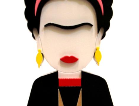 Boneca Frida Kahlo - 17x7,2cm