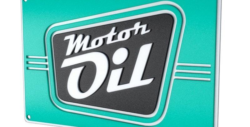 Quadro Motor Oil - 26,8x40cm