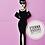 Thumbnail: Boneca Audrey  Hepburn - 29,9x8,9cm