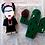 Thumbnail: Boneca Frida Kahlo - 17x7,2cm
