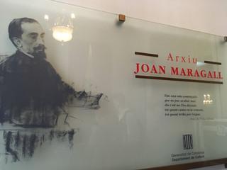 Visita a la casa museu de Joan Maragall
