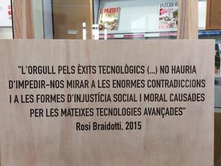 """Visita a l'exposició """"l'Ètica de les màquines"""""""
