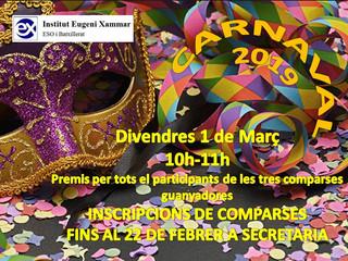 Carnaval 2019 a l'institut