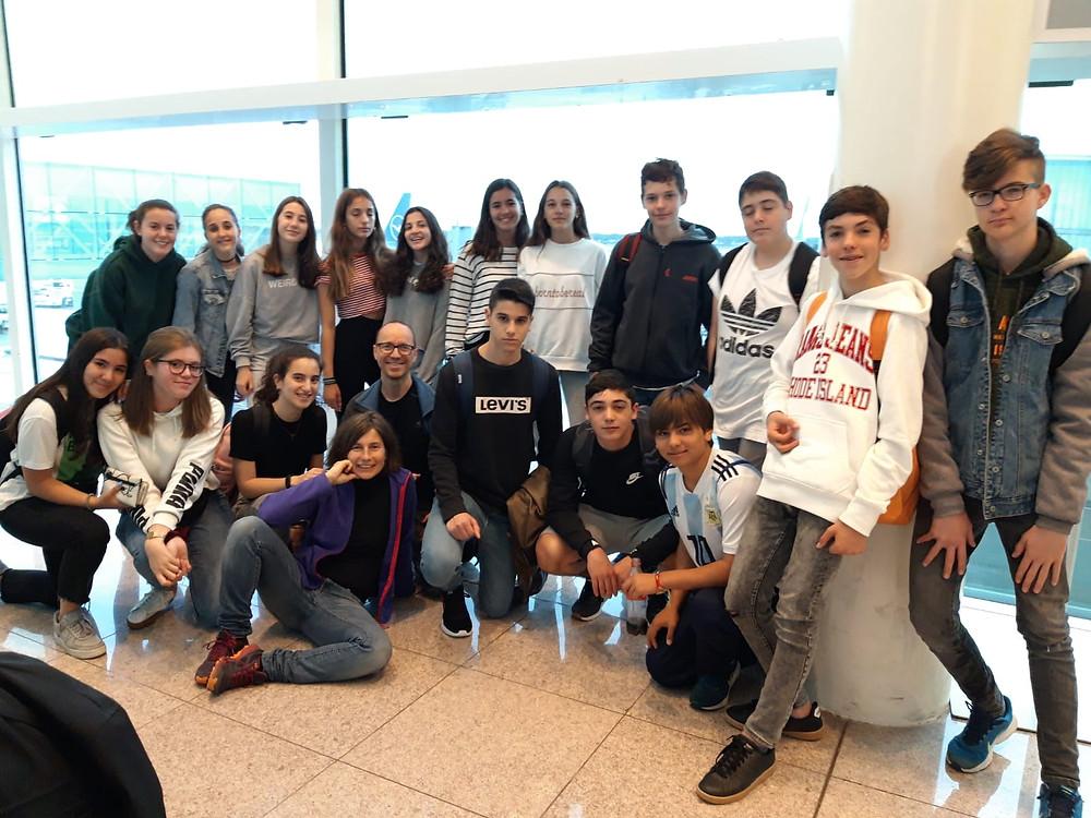 Els nostres alumnes i docents que han viatjat a Alemanya.