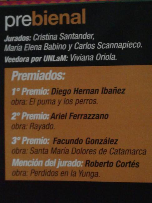 Premio Bienal UNLAM