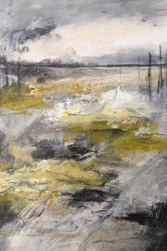 Landschap geel