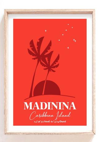 Madinina Caribbean Island
