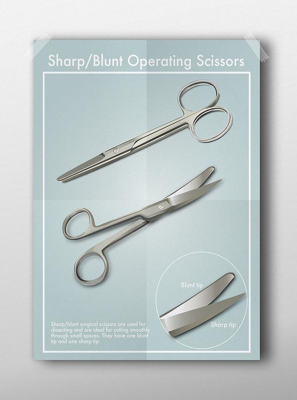 Sharp Blunt Scissors