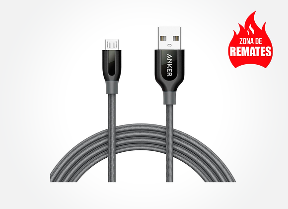 Cable Micro USB Reforzado 1.8m Anker