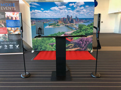 Pittsburgh Business Show setup