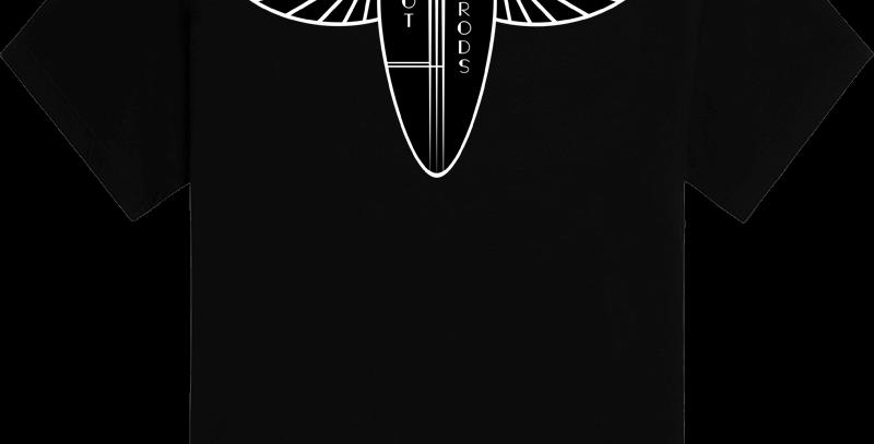 Lucky's Hot Rods - Deco Logo Tee