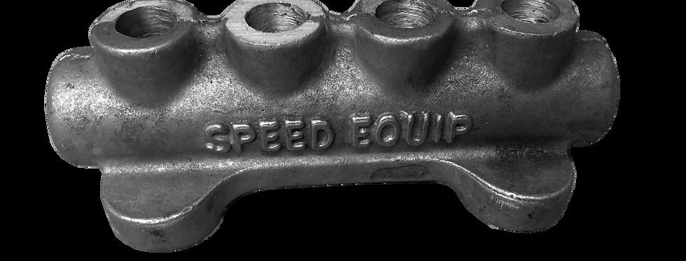 Lucky's Speed Equipment - 4 Port Fuel Block