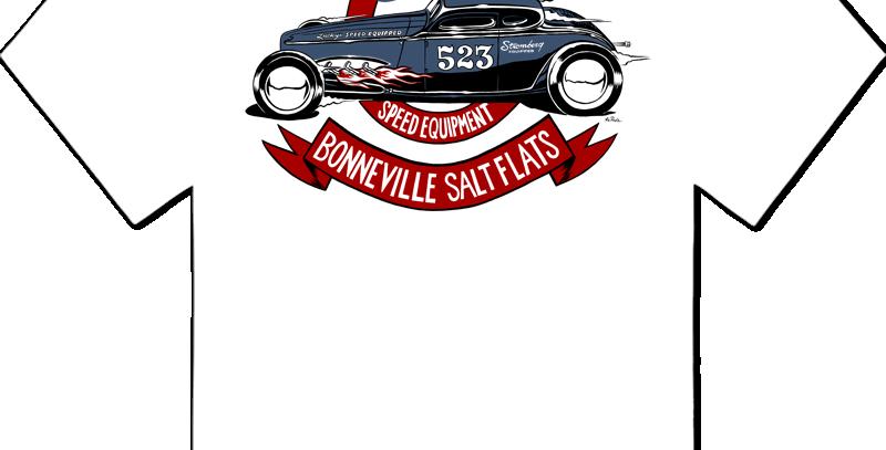 Lucky's Speed Equipment - McPhail 2020 Bonneville Support Tee