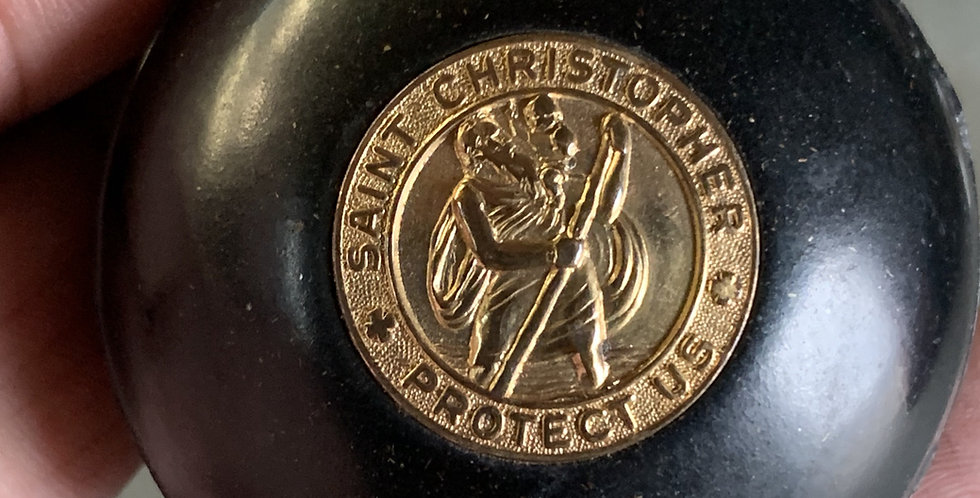 Lucky's Shift Knobs - Saint Christopher Protect Us #2