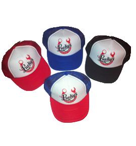 Luckys Hot Rod Shop Trucker Hat
