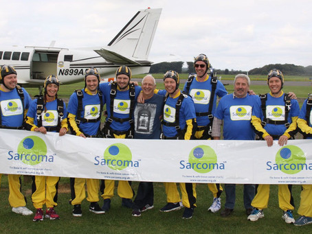 Skydive for Sarcoma UK
